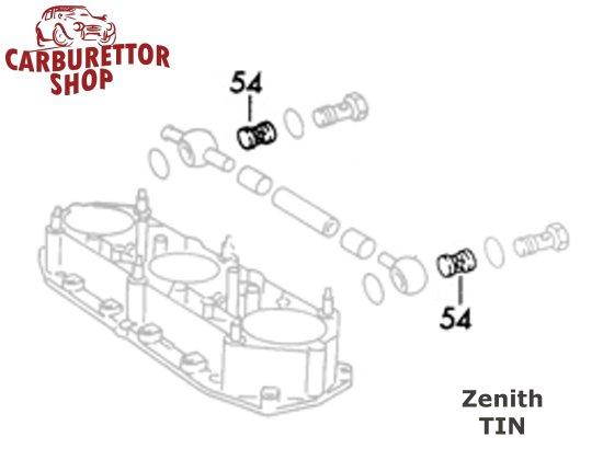 (54) Fuel Filter for Zenith 40 TIN Carburetors CCR9057