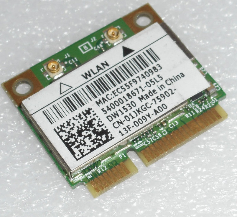 Dell Vostro 1000 Wireless 1490 Dual-Band WLAN MiniCard Driver UPDATE