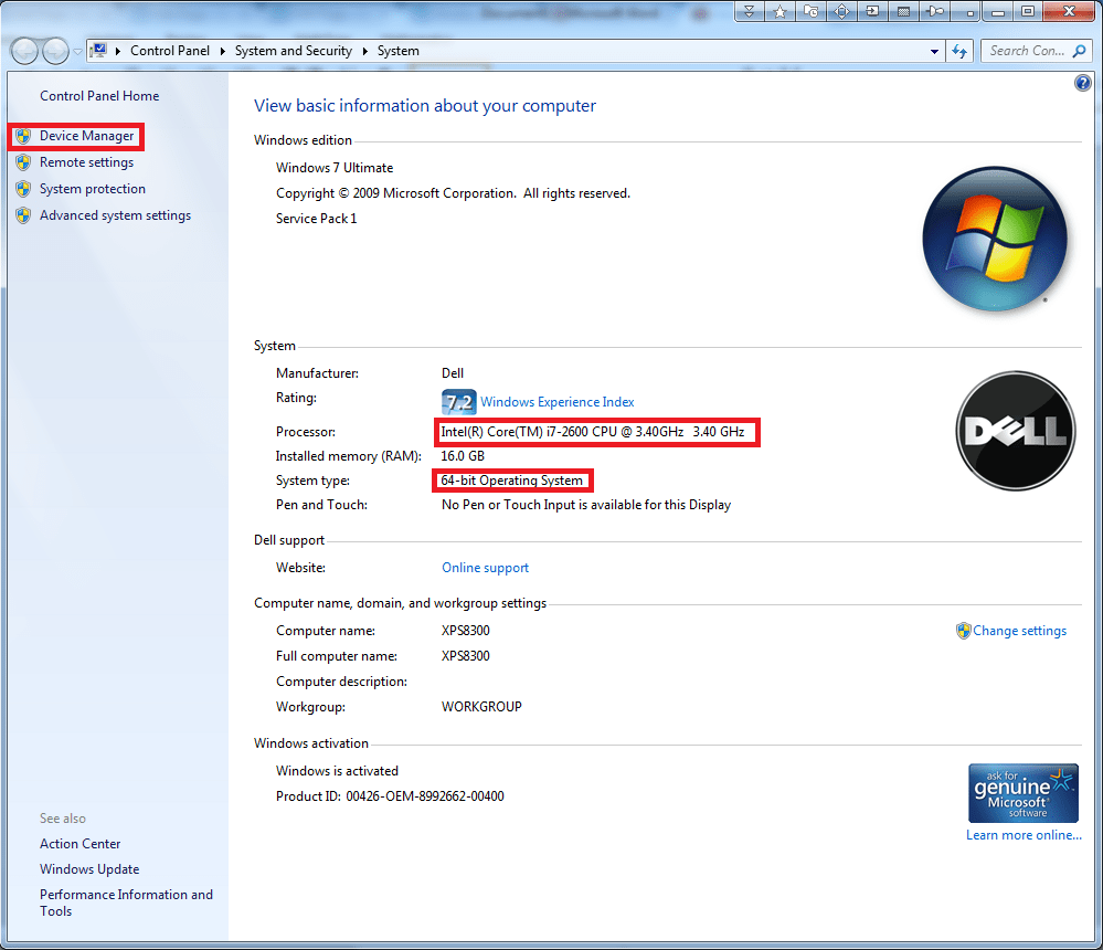 Checking Hardware Ids In The Device Manager In Windows Xp Vista 7 8 1 And 10 Windows 10 Installation Guides
