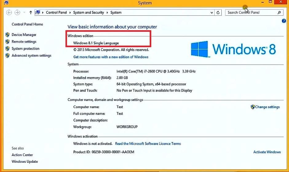windows 8 single language iso español 64 bits 1 link