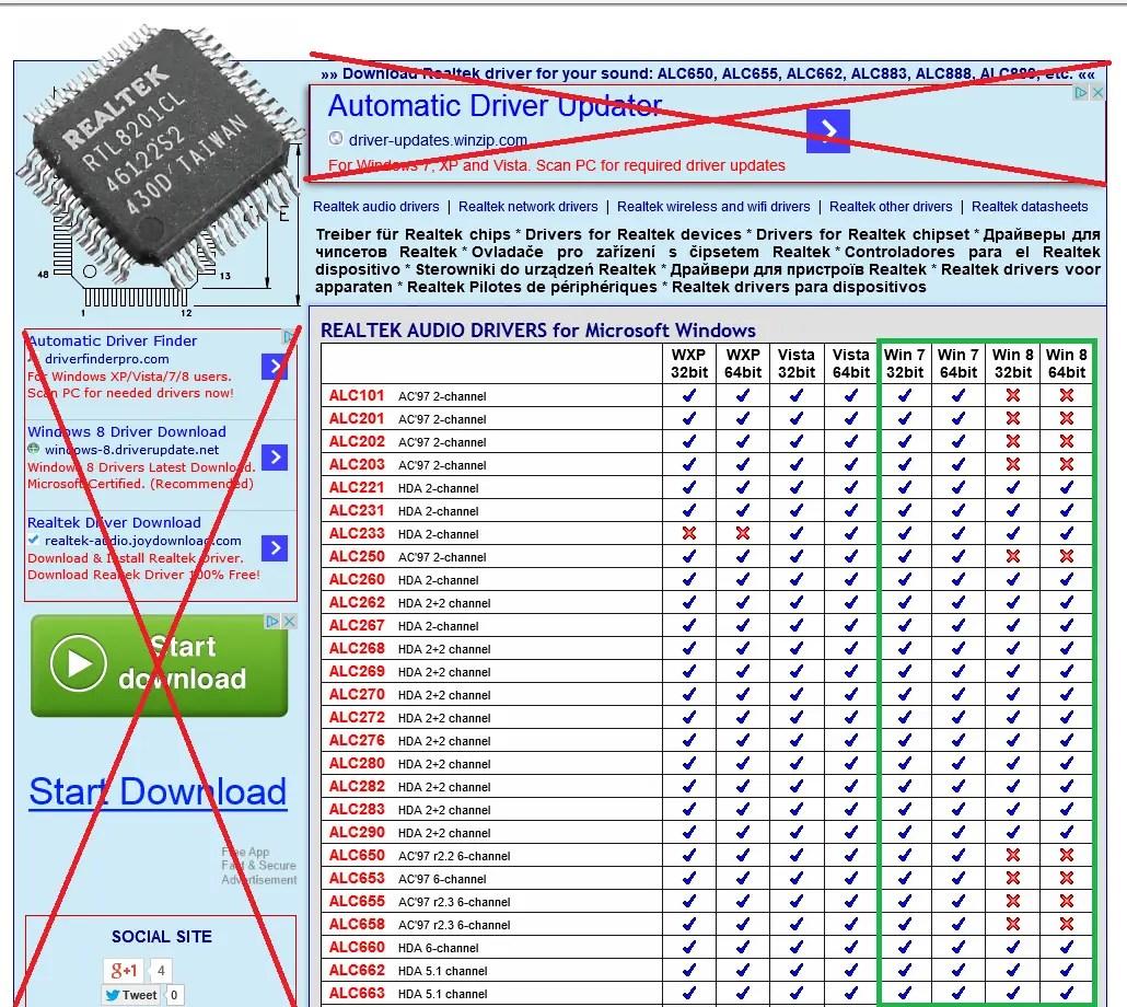 Realtek Unofficial Driver Website (Czech) - Windows 10