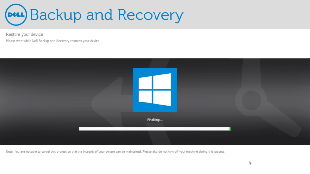 Dell Backup and Recovery 1 9 2 8 - Windows 7 and 8 1 (Clean