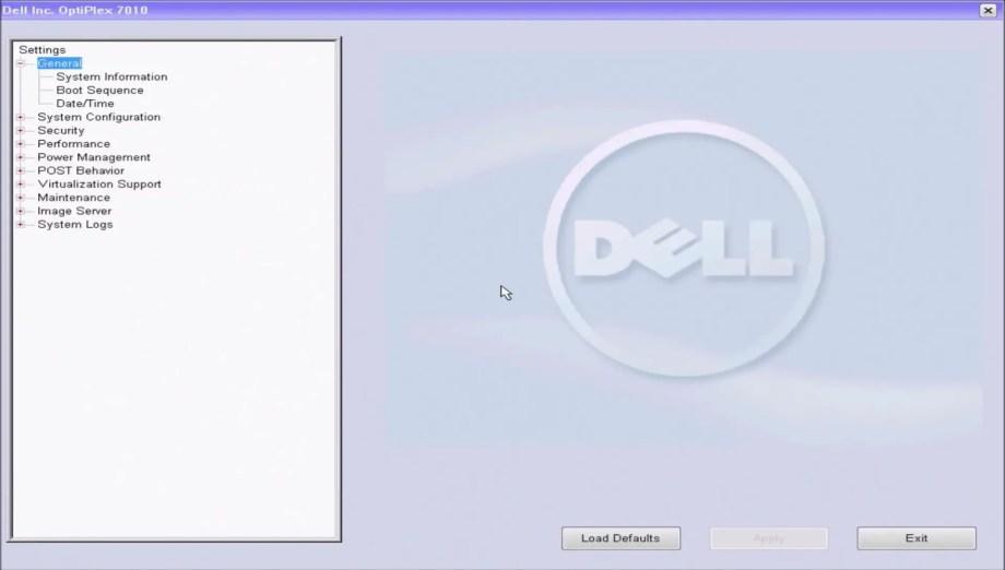 Dell UEFI BIOS A05
