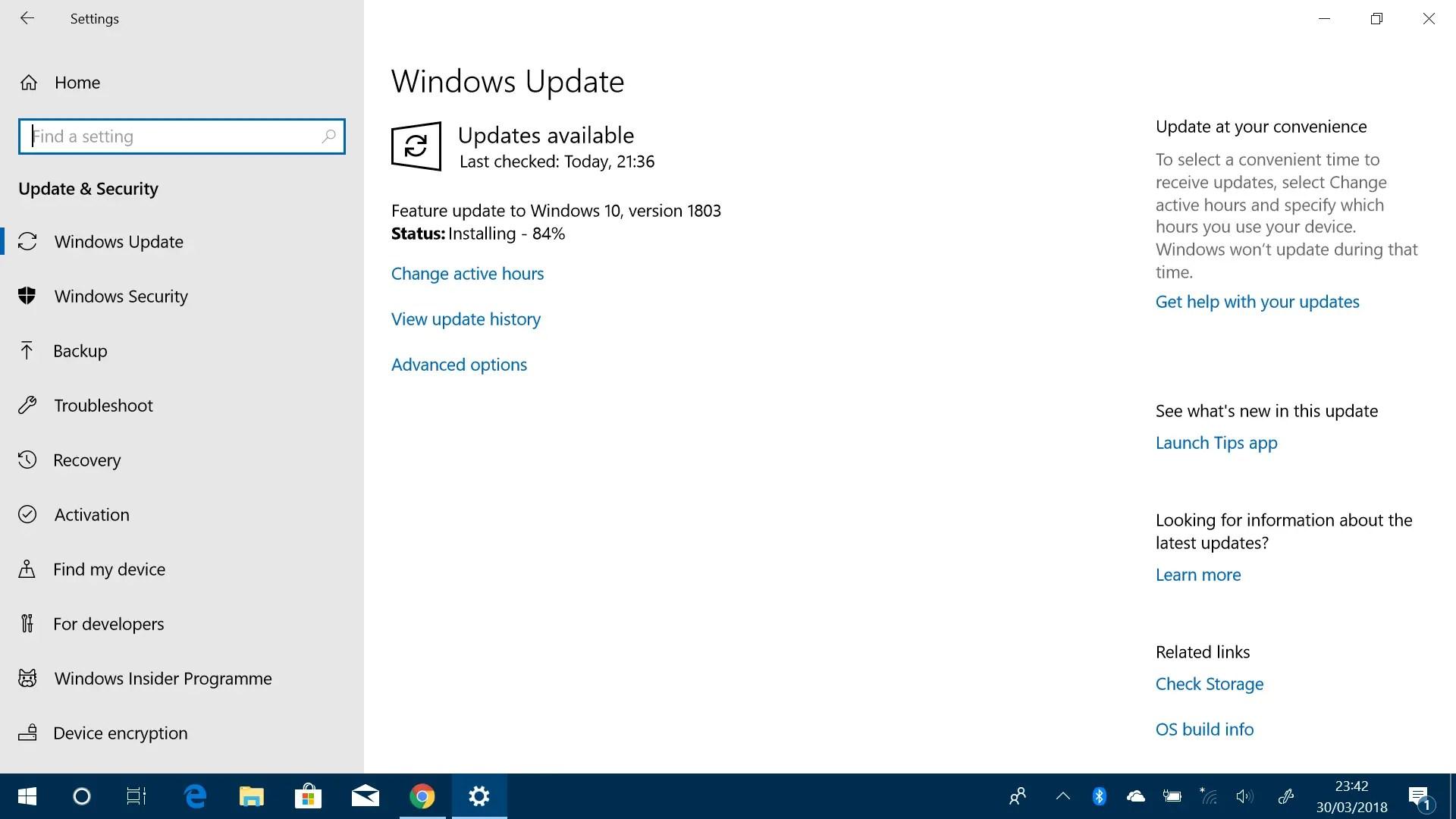 Windows windows 10 version 1803 | Windows 10 version 1903 failed to