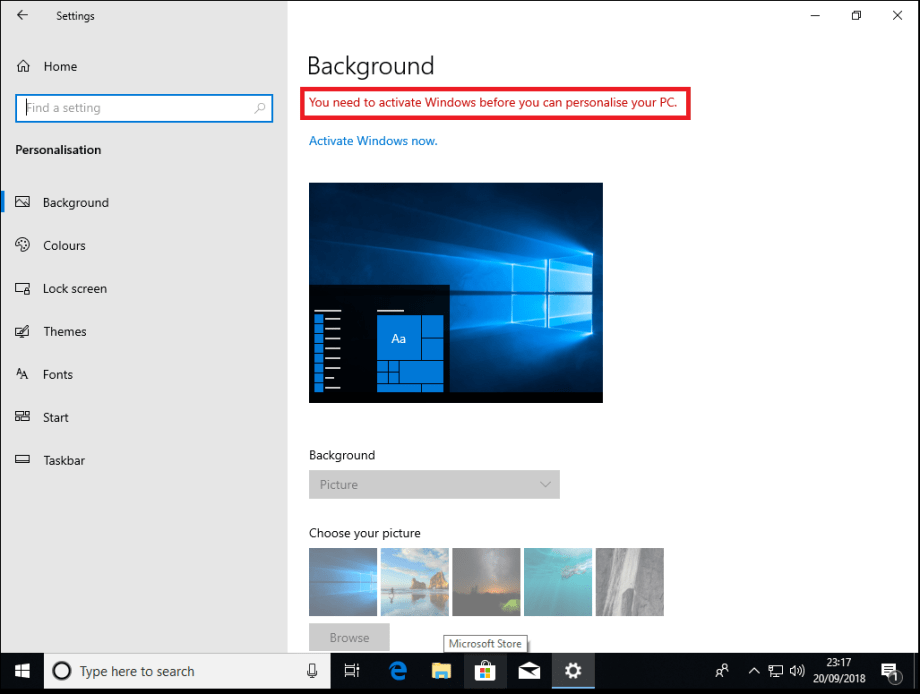 upgrade from vista to win 10