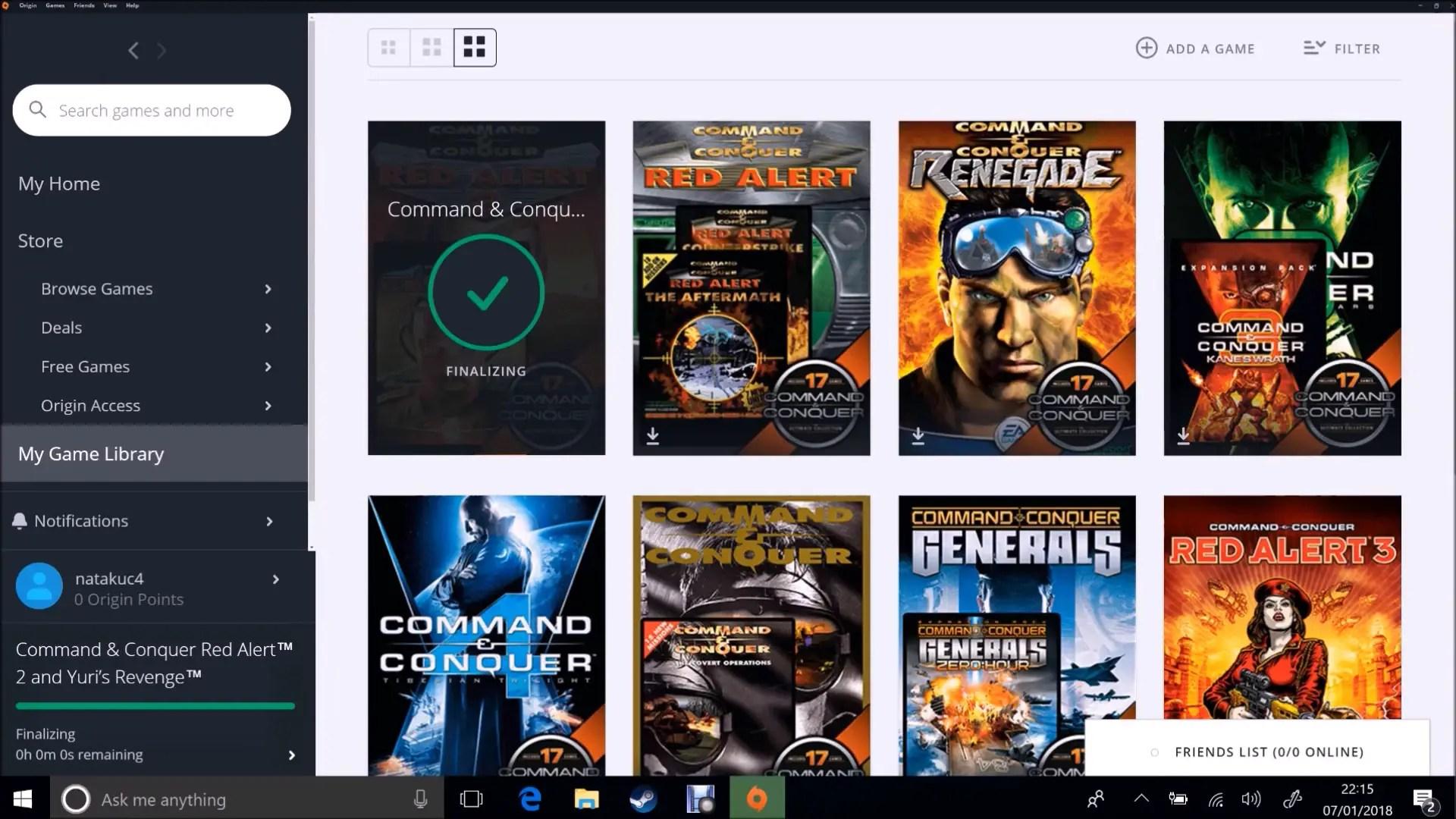 Moving EA Origin (Origin Games) to a New Windows