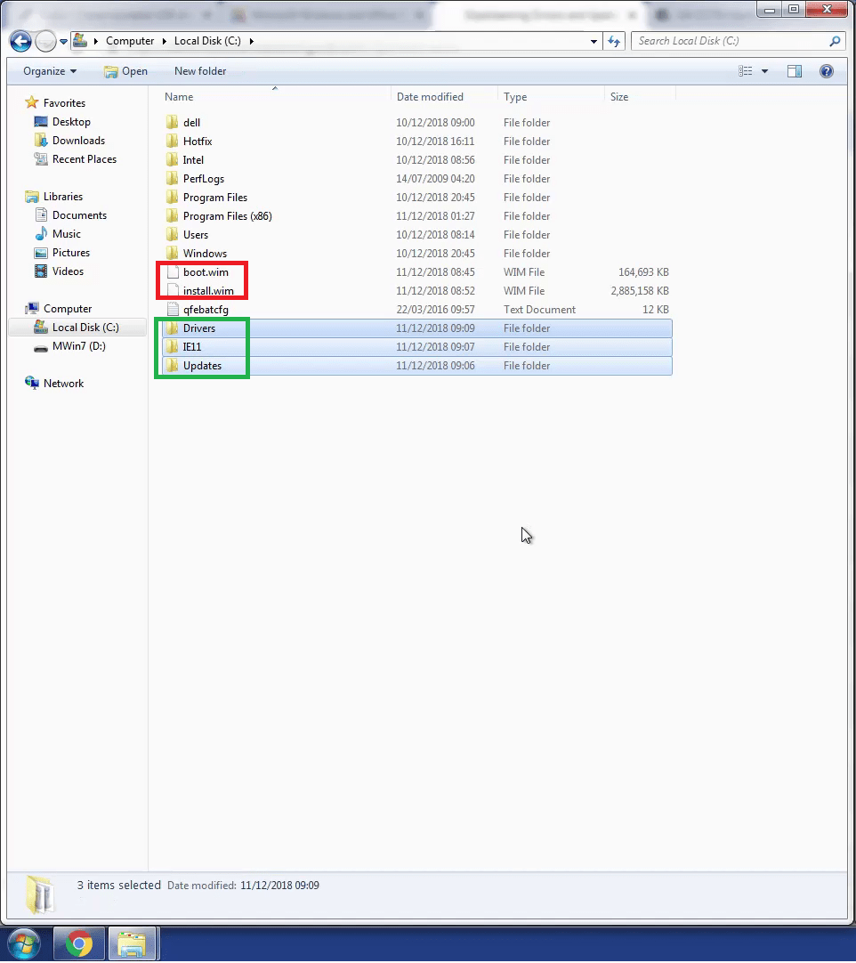 Downloading Windows 7 and Creating a December 2018 Bootable