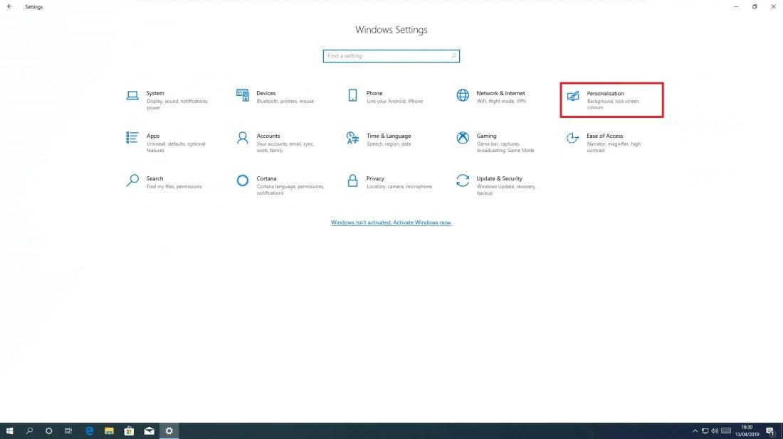 A Clean Install of Windows 10 Version 1809 - Windows 10