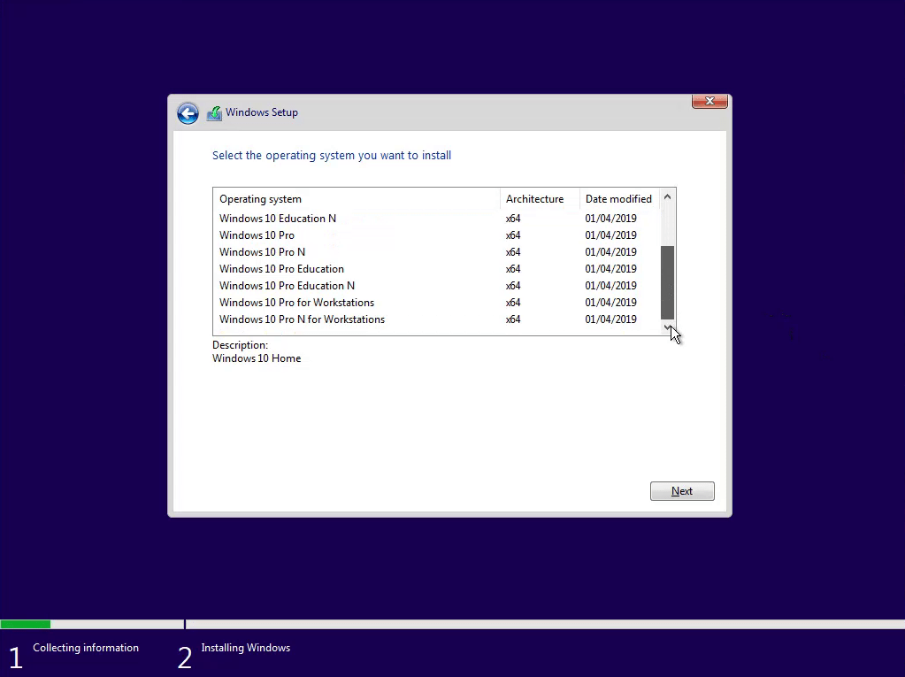 Download Windows 10 Version 1903 and Create a Bootable USB (On