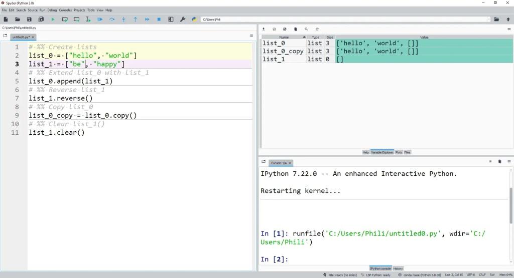 Mutating list_1 will mutate both list_0 and list_0_copy.