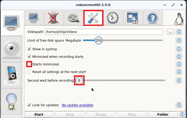 VokoScreenNG Other settings