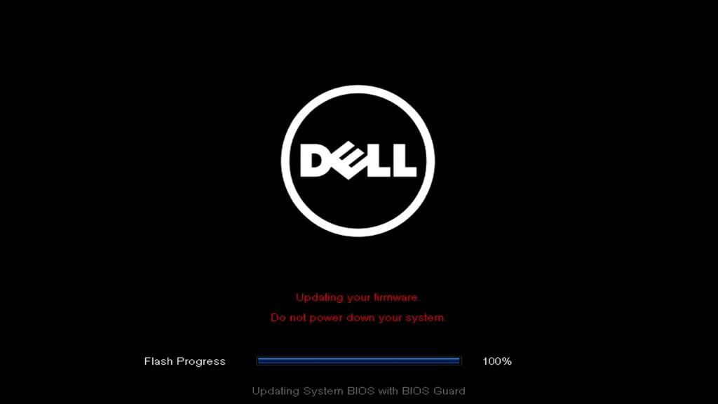 Dell UEFI BIOS update flash.