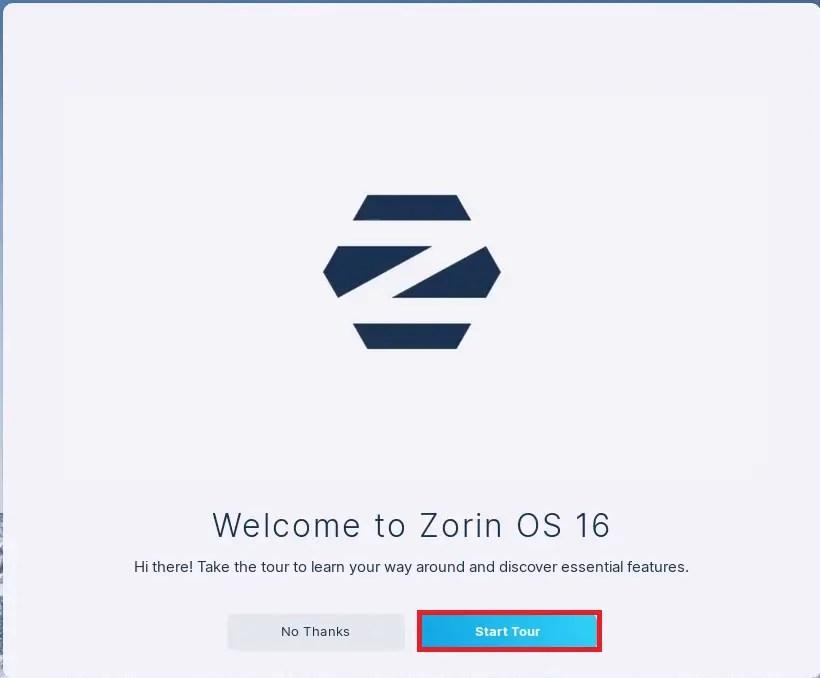 Zorin OS Welcome Tour 1.
