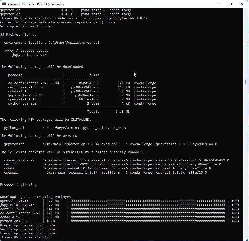 The Anaconda Python Distribution   Windows 20 Installation Guides