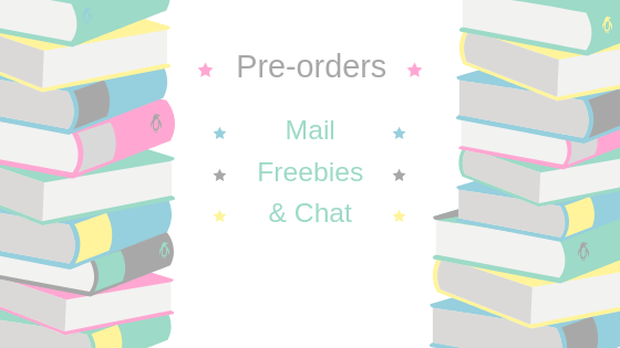 Book Pre-orders, Freebies