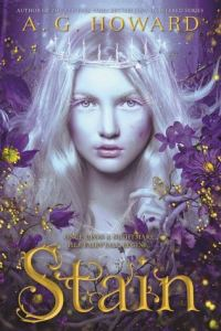 Stain, Young Adult Fantasy, Fairytale Book based on The Princess and the Pea, Book Cover