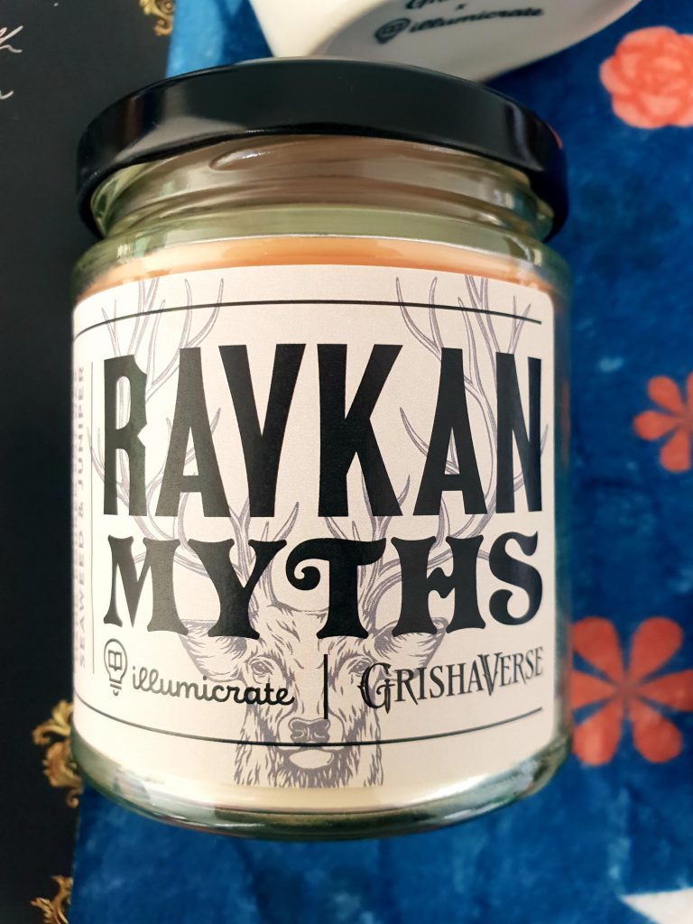 Ravkan Myths Candle Illumicrate Saints and Scars Box