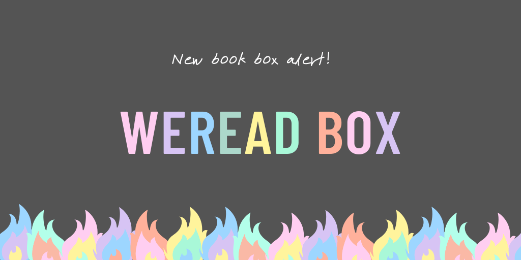 WeRead Box. Middle Grade Book Subscription.