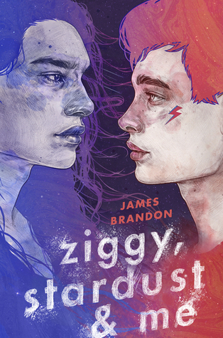 Ziggy, Stardust and Me by James Brandon. Book cover art. LGBT+ recommendation.