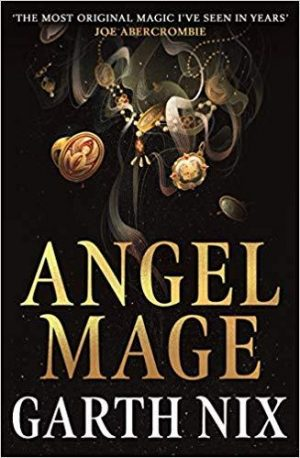 Angel Mage by Garth Nix book cover.