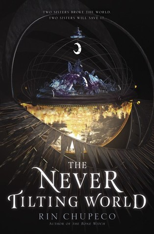 The Never Tilting World by Rin Chupeco book cover.