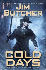 Cold Days. The Dresden Files by Jim Butcher