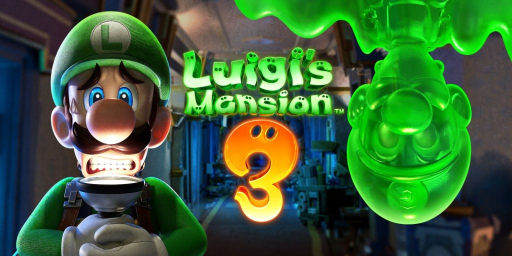 Luigi's Mansion 3. Nintendo Switch Game
