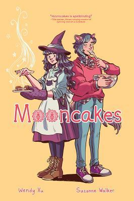 Mooncakes graphic novel by Suzanne Walker. Comic cover.