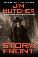 Storm Front by Jim Butcher Book Cover