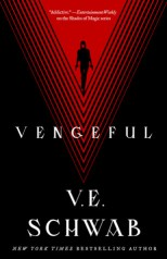 Vengeful by V.E. Schwab book cover