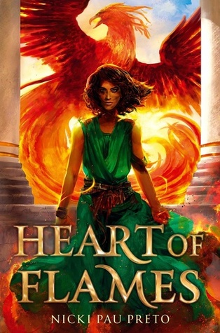 Heart of Flames Book cover. Books I can't wait for