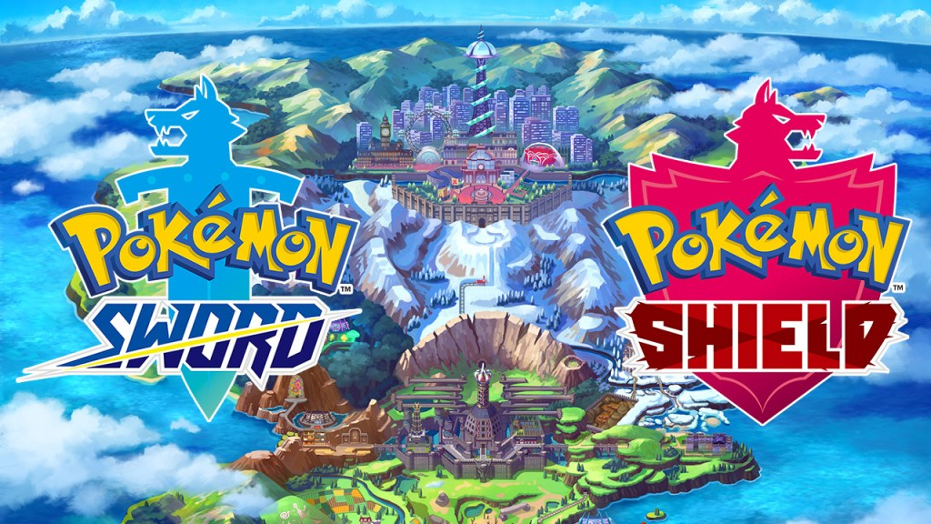 Pokemon Sword and Shield. Nintendo Switch Game