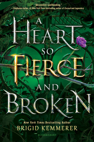 A Heart So Fierce and Broken Book Cover. January 2020 book releases.