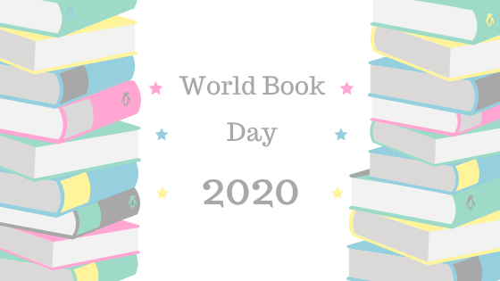 World Book Day 2020. Book Blog Banner.