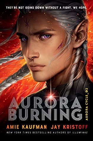 May 2020 book releases. Aurora Burning book cover.