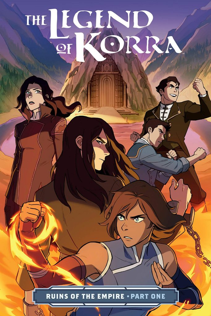 The Legend of Korra. Ruins of the Empire.