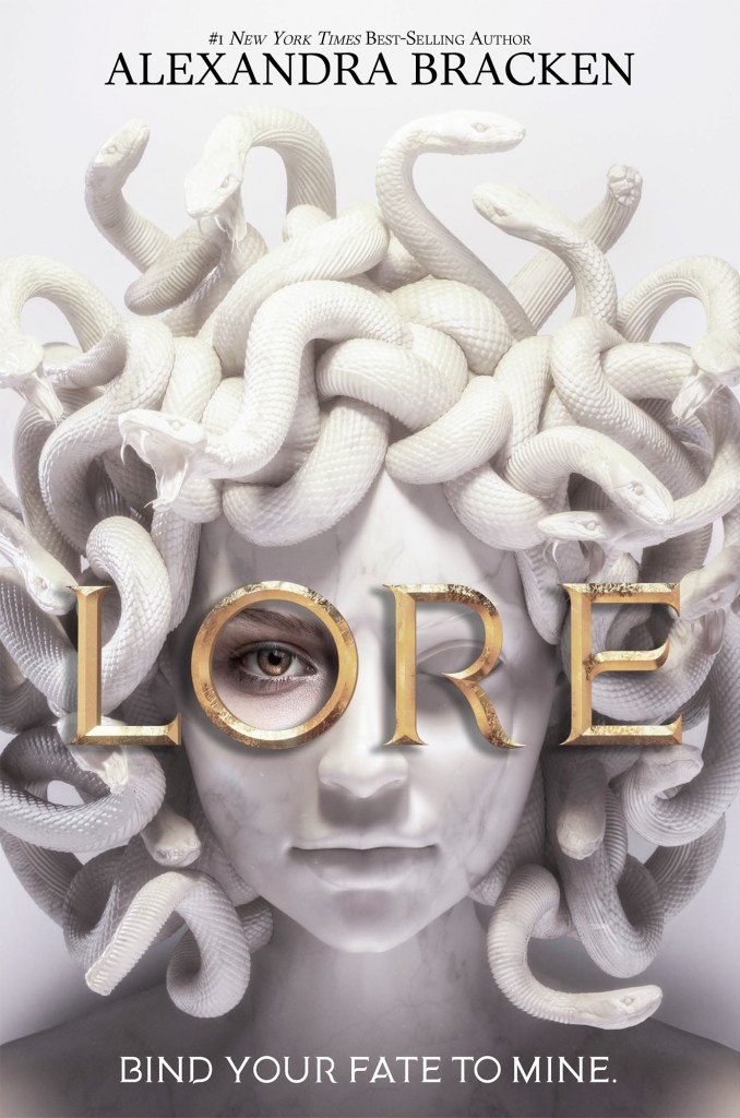 January 2021 Book Releases. Lore by Alexandra Bracken book cover.