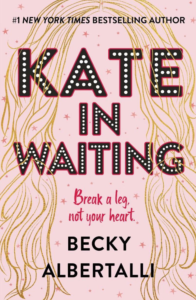 Kate in Waiting by Becky Albertalli book cover