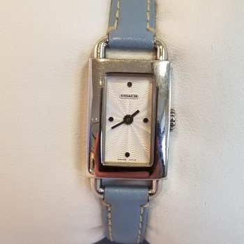 Coach Rectangular Ladies Quartz