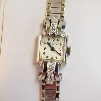 Lucerne Vintage Ladies 14k Gold