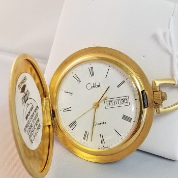 Calibri Pocket Watch Vintage 1980