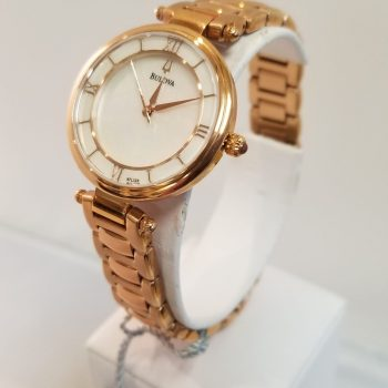 Bulova Ladies – 29m – Rose Gold