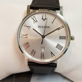 Bulova American Clipper Leather