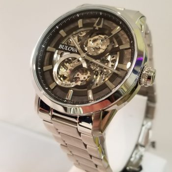 Bulova Sutton Auto Skeleton