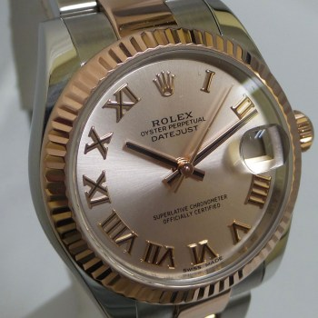 Rolex Ladies Datejust Two Tone Steel and Rose Gold 31MM