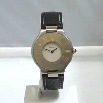 Cartier Must De 21 Two Tone Quartz