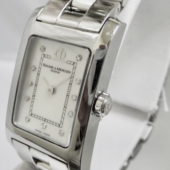 Baume & Mercier Geneve Pearl Face with Diamond Markers