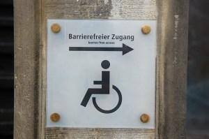 Barrierefreie Zugänge
