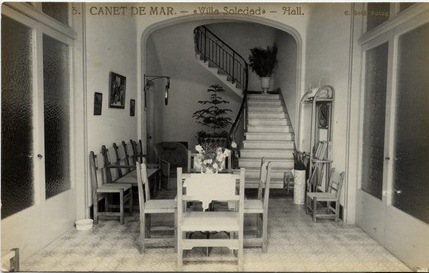 Muebles e interiores en Canet de Mar 18901917  Del