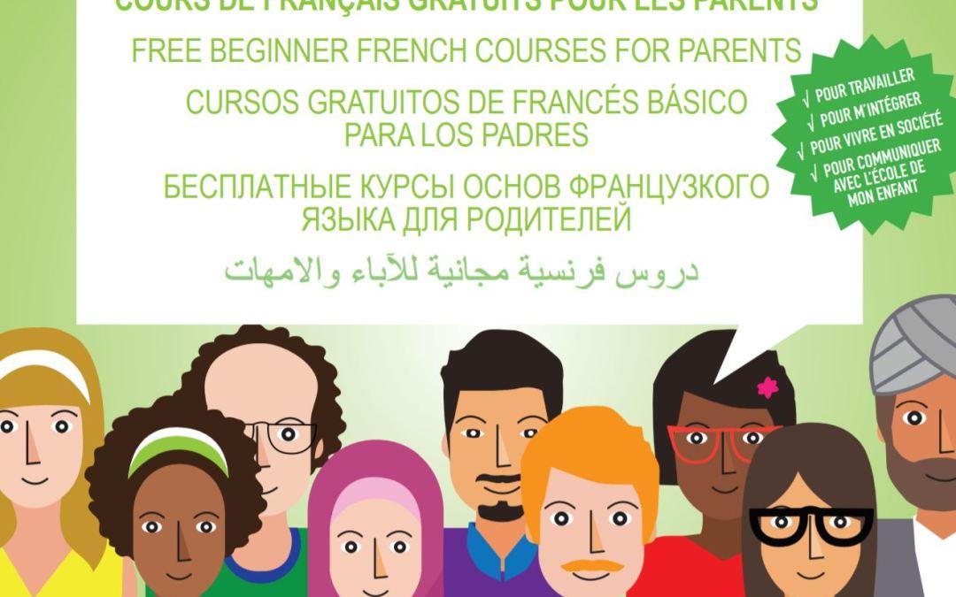 Cours de français pour les parents